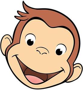 Image Is Loading Curious George VINYL WALL STICKER WALL DECALS Part 65