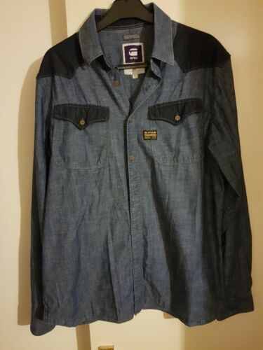 G Blue Slim Camicia Large di Star Fit jeans By16cEqW8