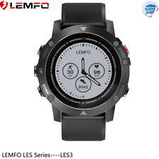 LEMFO LES3 Impermeable Reloj Inteligente GPS Frecuencia Cardíaca For Android IOS