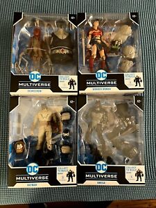 McFarlane DC Multiverse Last Knight on Earth  Build-A Bane New Mint Rare In Hand