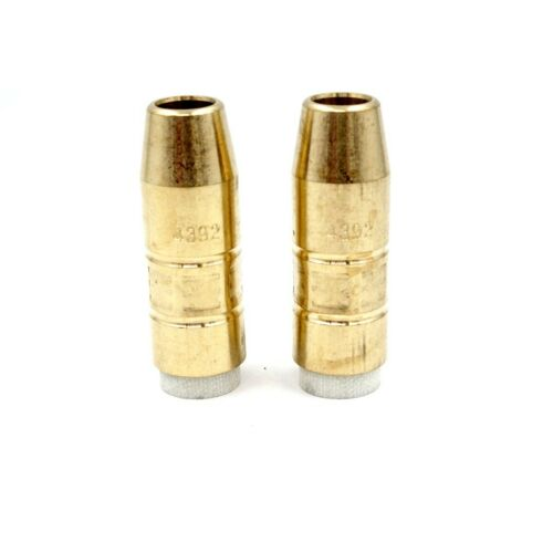 4392 MIG Welding Tapered Insulated Nozzle 1//2 Inch Bore for Bernard Q//S-Gun Q-5