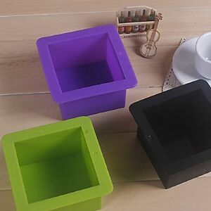 Silicone-Square-Toast-Mould-Cake-Muffin-Loaf-Baking-Pan-Soap-Mold-Bakeware-Tool