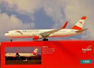 Herpa-Wings-1-500-Boeing-767-300-Austrian-OE-LAY-529334-Modellairport500