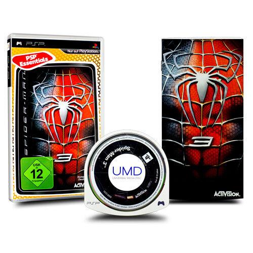 Playstation Portable - PSP Spiel SPIDERMAN - SPIDER-MAN 3 in OVP mit Anleitung
