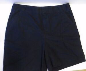 Christopher-and-Banks-women-039-s-size-10-navy-blue-shorts-soft-amp-nice-32-inch-waist