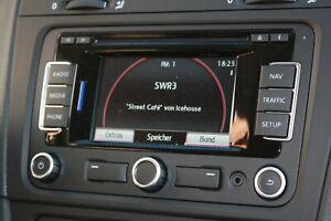 Volkswagen VW RNS310 Navigationssystem 3C0035270X HWH17 SW0351 mit CODE Handbuch