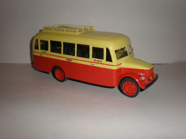 1 43 RYSIAN buss TA-1  1950's Handgjort