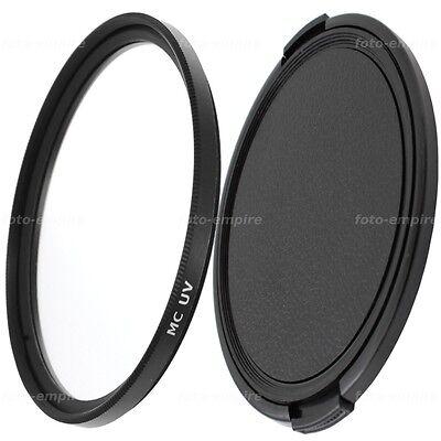 46mm Mc Uv Filter Vergütet & Objektivdeckel Lens Cap Einschraubanschluss