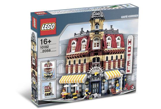 NEW Lego Modular Building 10182 Cafe Corner  SEALED Ships World Wide