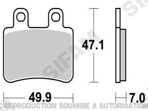Plaquettes-de-frein-arriere-Yamaha-DT-50-r-x-2003-a-2011-S1116
