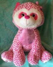 Jumbo PLUSH Pink RACCOON 28 Inch PLUSH Huggable Stuffed Animal by Hug Fun Intl.