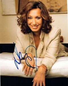 Donna-Karan-Signed-Autographed-8x10-Photo-Fashion-Designer-COA-VD