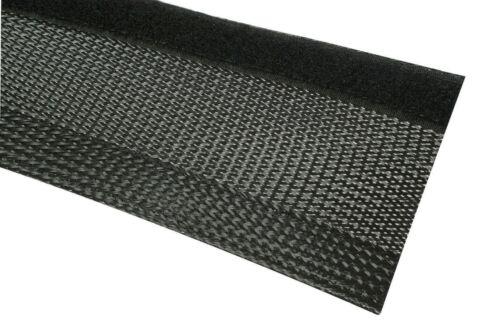 Longueur 25 m Câble Protection Câble Tuyau Noir Fermeture Velcro 7-8 mm Diamètre