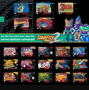 Image is loading SNES-Classic-Edition-Mod-SERVICE-Hack-200-Games-