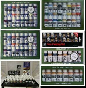 Vallejo-Modelo-Color-Elegir-gama-de-diferentes-conjuntos-de-pintura-Figura-Hobby-17ml