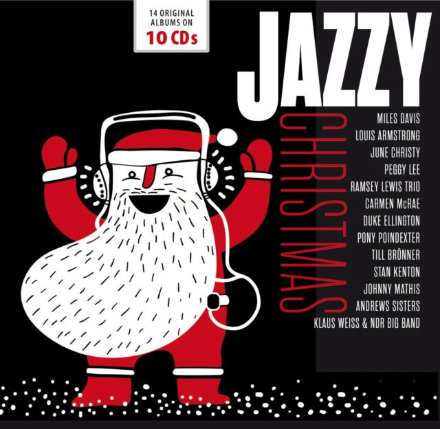 The Andrews Sisters - Jazzy Christmas, 10 Audio-CDs