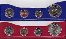2012 P & D Partial US Mint Set - 50¢, 10¢, 5¢ and 1¢ -  8-Coins In Mint Cello BU