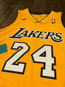 Details about 2011-2012 ADIDAS NBA AUTHENTICS KOBE BRYANT LOS ANGELES LA LAKERS JERSEY GOLD S