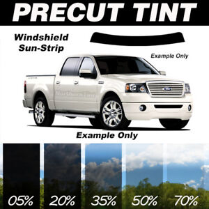 35 Windshield Tint >> Details About Windshield Sunstrip Precut Window Tint All Vehicles