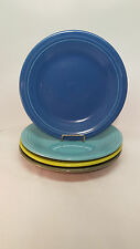Fiestaware mixed colors Dinner Plate Lot of 4 Fiesta 10.5 inch plates 4C1M18