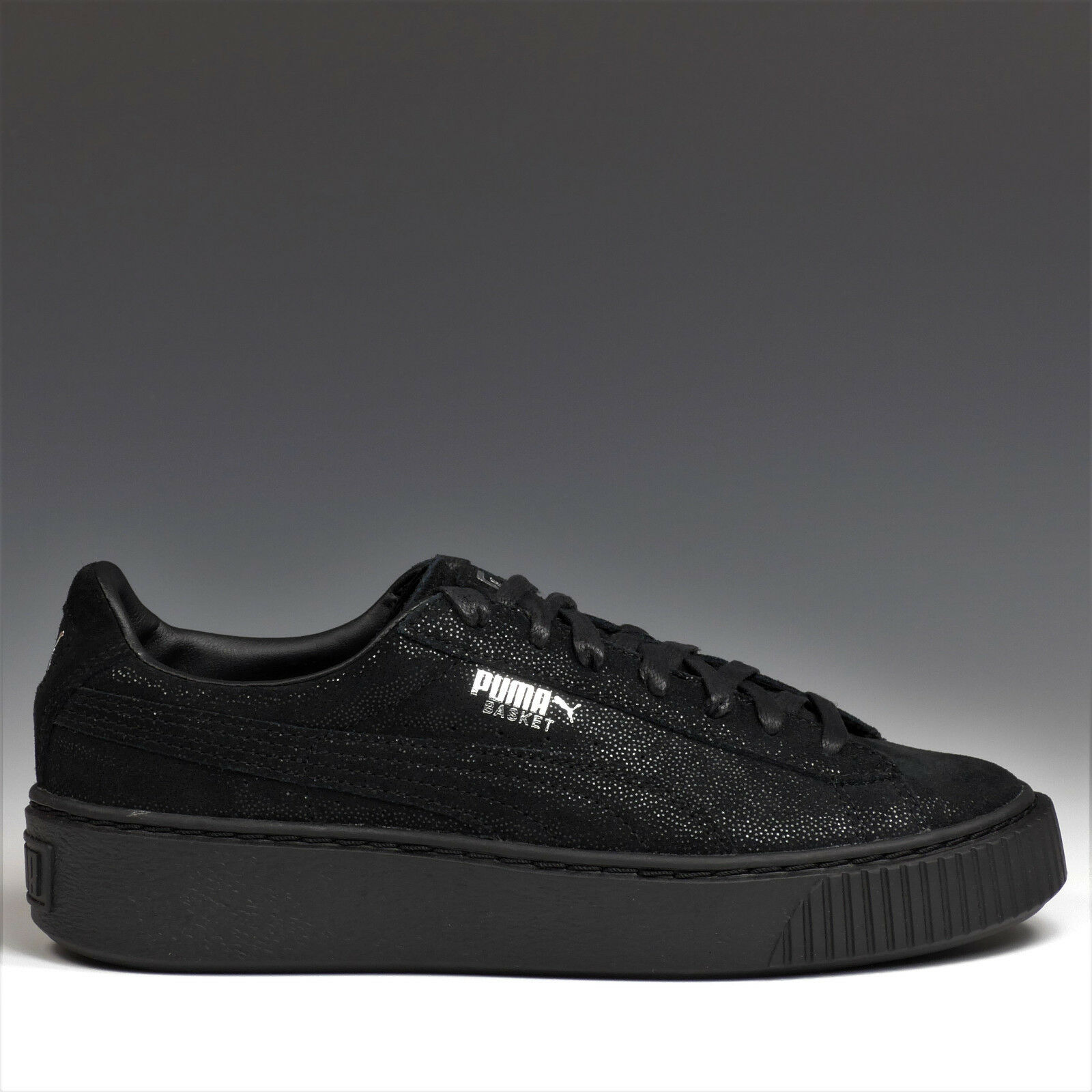 Puma Cesta Plataforma Reset Reset Plataforma Zapatos Mujer Black Zapatillas Negro 363313 04 NUEVO 9d928a