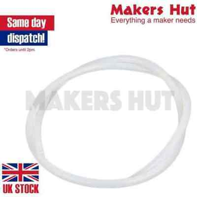 PTFE Tubing Pipe ID/_1MM-25MM OD/_2MM-20MM White 1000MM