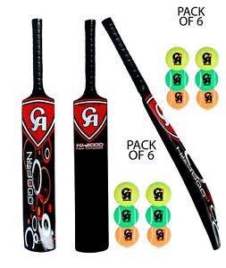 3 x CA NJ-5000 Tape Ball Fiber Cricket Bat 45mm Edge top deal