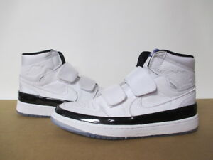 639f2418c409 Image is loading AIR-JORDAN-1-HIGH-DOUBLE-STRAP-WHITE-BLACK-