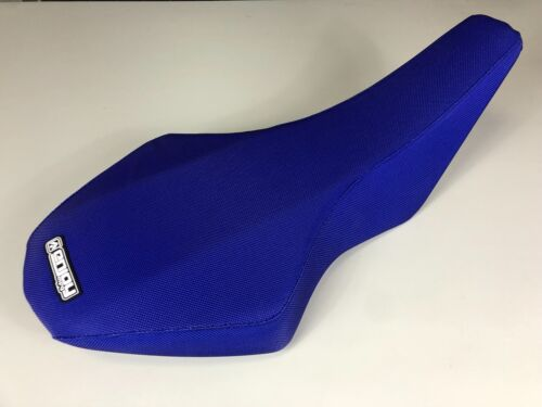 Suzuki LTR 450 Seat Cover 2006-2012 LTR450 Gripper Style By Enjoy Mfg Blue