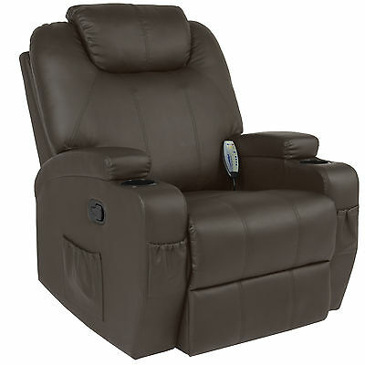 Best Choice Products Massage Recliner Sofa Chair Heated W/ Control Ergonomic