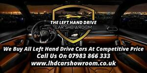 All Left Hand Drive Lhd Cars Wanted Call Today For A Competitive Rate Ebay