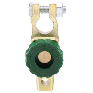 Details about Quick Cut-off Disconnect Master Kill Shut Switch Car Auto  Battery Link Terminal