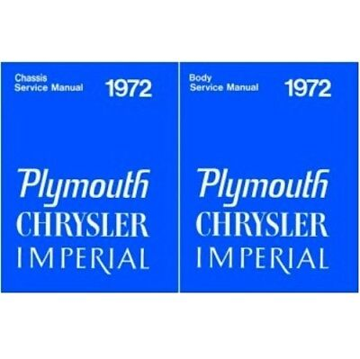 Body//Chassis Shop Imperial Service Manual for 1974 Plymouth Chrysler