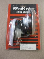 "Bike Master 4"" Flush Mount Turn Signals Pair #26-9276  NEW FREE SHIPPING Peged"