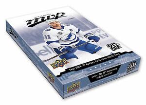 2018-19 Upper Deck MVP Hockey Hobby Box + 1 FREE NHL PLAYER SIGNED PHOTO PER BOX