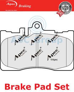 APEC-PLAQUETTES-DE-FREIN-AVANT-Set-OE-QUALITE-REMPLACEMENT-pad1273