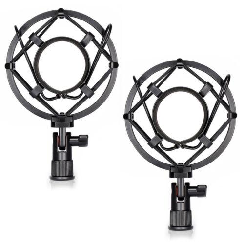 Universal Mic Mikrofon Shock Mount Clip Halter Studio Sound Aufnahme XJ