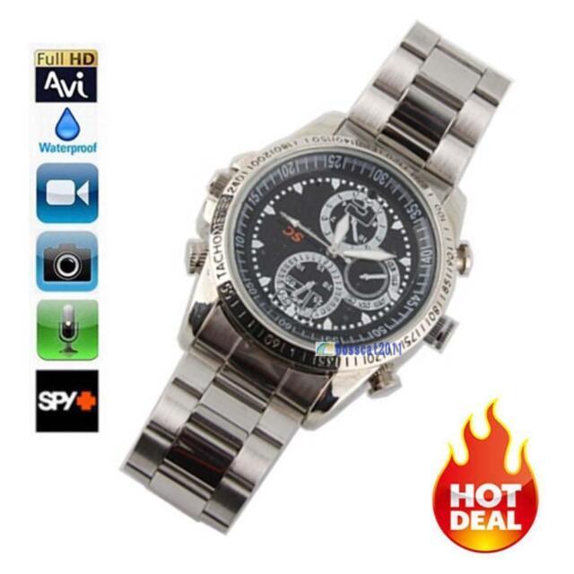 Spy DV Wrist Watch Video 1280*960 Hidden Camera DVR Waterproof Camcorder@TH