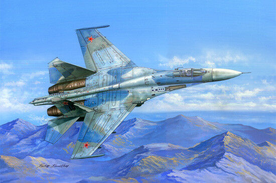 Hobby Boss 1 48 Sukhoi Su-27 Attacco Fianco B  81711