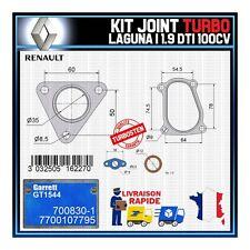 Joints Turbo 1.9 dTi 100 Cv Renault Laguna 7700107795 Garrett GT1544 700830-1