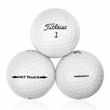 60 Titleist NXT Tour S Mint Quality Factory Refinished No Logos Golf Balls - 5 D