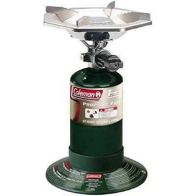 Coleman Compact Portable 1 One Single Burner Propane Camp/Backpacking Stove