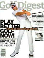 Golf Digest 7/10,Ian Poulter,July 2010,NEW