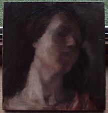 Oskar Larsen (Austrian, 1882-1972) Frauenbildnis um 1920 in Öl/Leinwand.