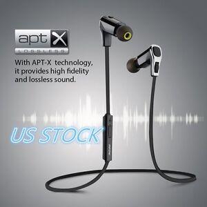 Mpow Swallow Bluetooth 4.0 Earphones Wireless Sports Headsets Earbuds Headphones