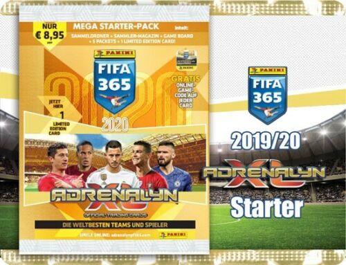5 Booster album PANINI ADRENALYN XL FIFA 365 2020er version numéros
