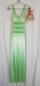 Sean-Couture-Prom-Gown-Gala-Dress-Evening-Formal-Womens-2XS-Beaded-Wiggle-Maxi