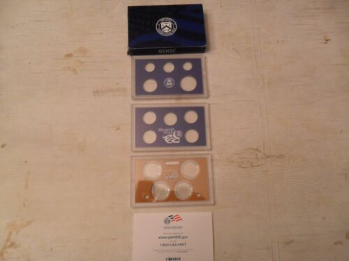 2008  Proof Set Box and Lenses ONLY