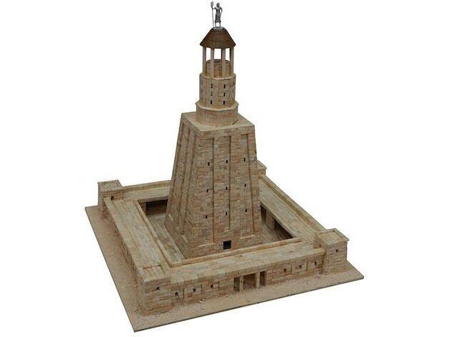 Diorama Faro de Alejandria - Kit composto da circa 5.500 pezzi in scala 1 375