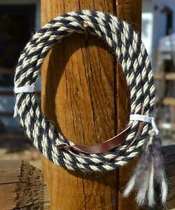 Jose-Ortiz-4-st-x-1-4-034-Mohair-Get-Down-Rope-16-039-Black-amp-White